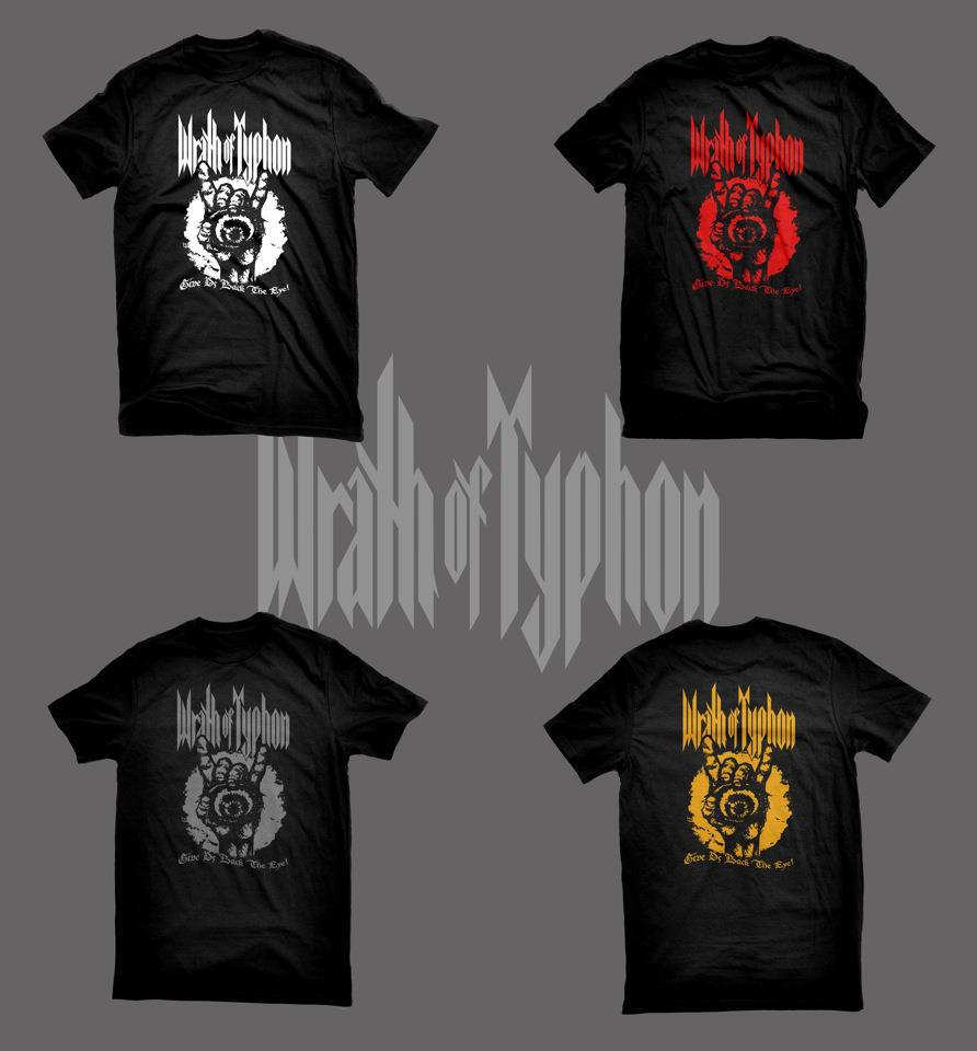 Wrath of Typhon - Give Us Back The Eye - T-Shirt Design