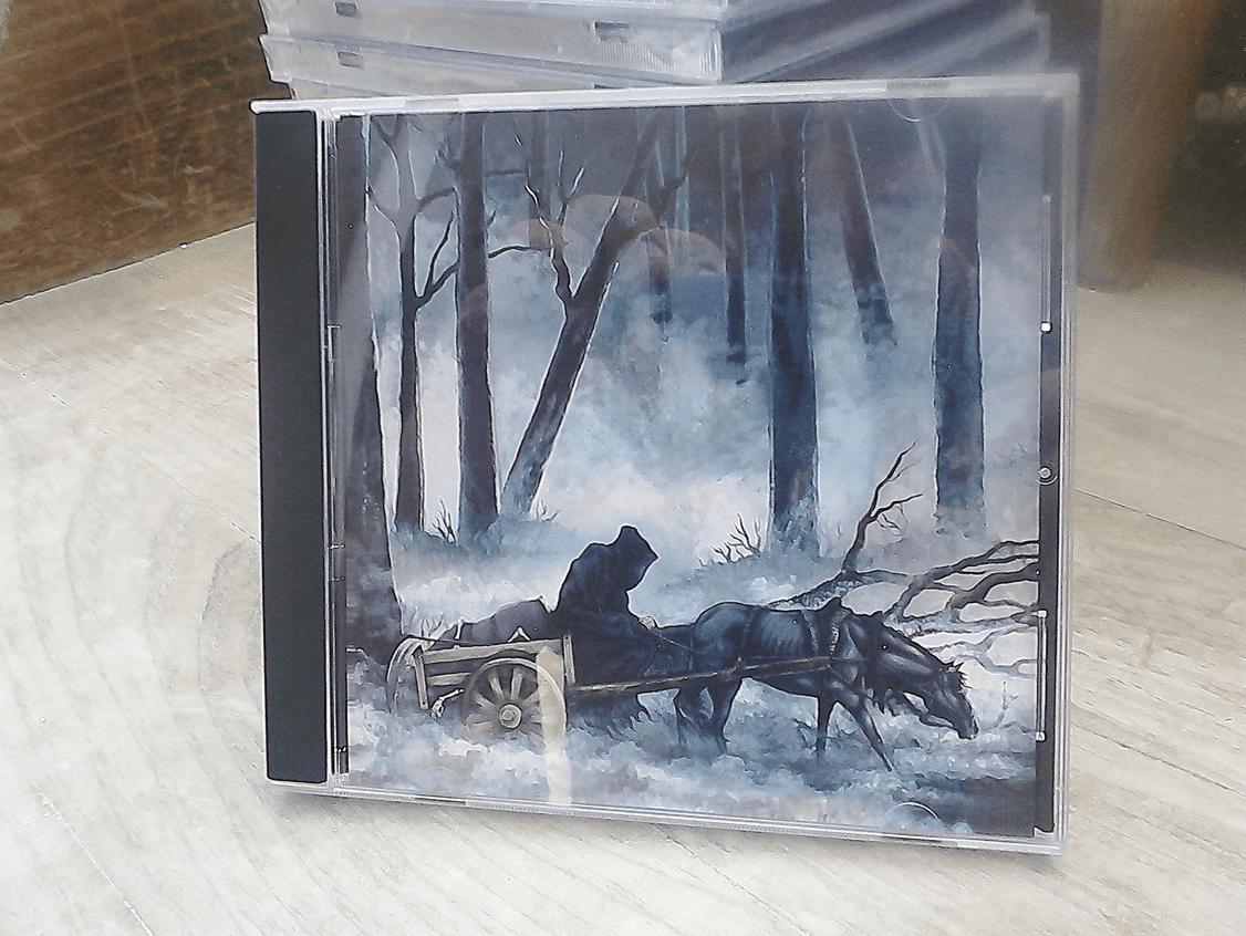 Night / Layr Split Album Artwork - Finished CD