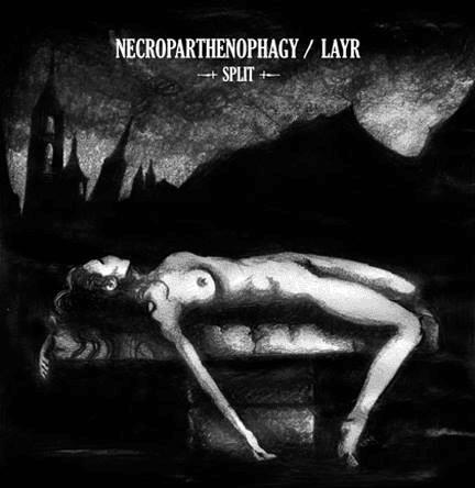 Necroparthenophagy Art by Album Cover Artist Rebecca Magar