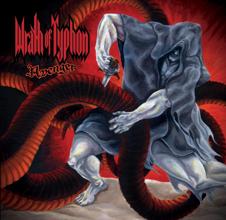 Wrath of Typhon - Avenger - Album Art - Front Cover