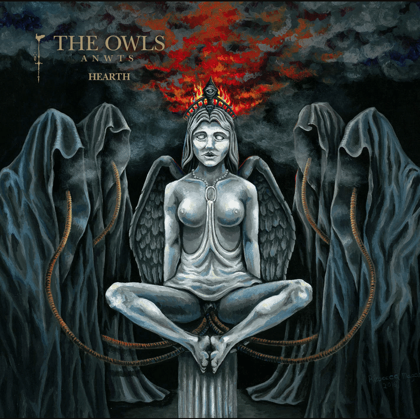 The Owls Are Not What They Seem - Album Cover Art Illustration