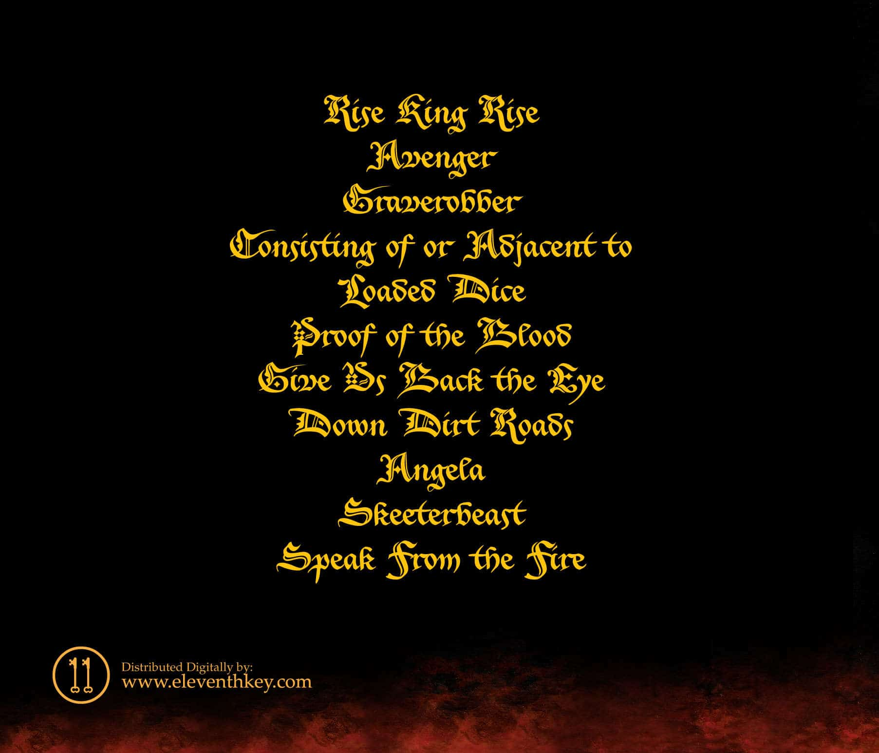 Wrath of Typhon - Speak from the Fire - Album Art - Back Cover