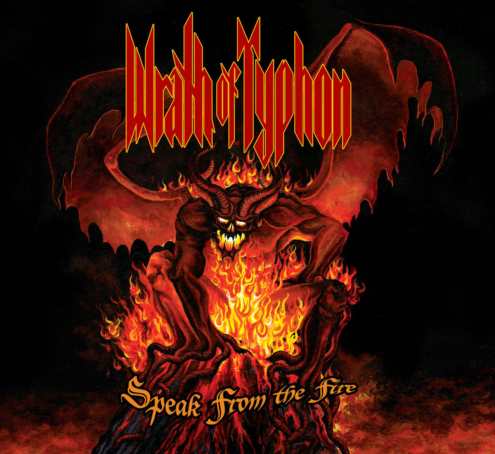 Wrath of Typhon - Speak from the Fire - Album Art - Front Cover
