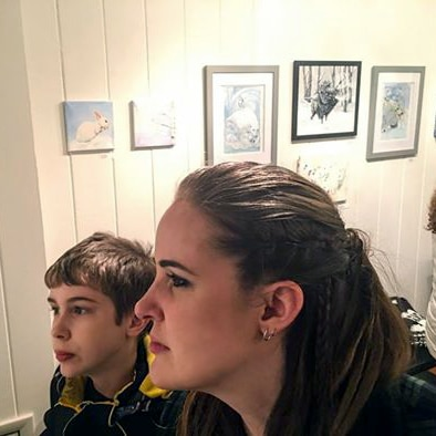 Rebecca Magar - Pale Visions at the HIVE artspace