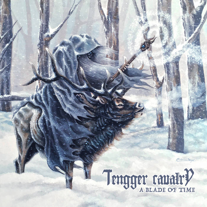 A Blade of Time - Tengger Cavalry Artwork by Rebecca Magar