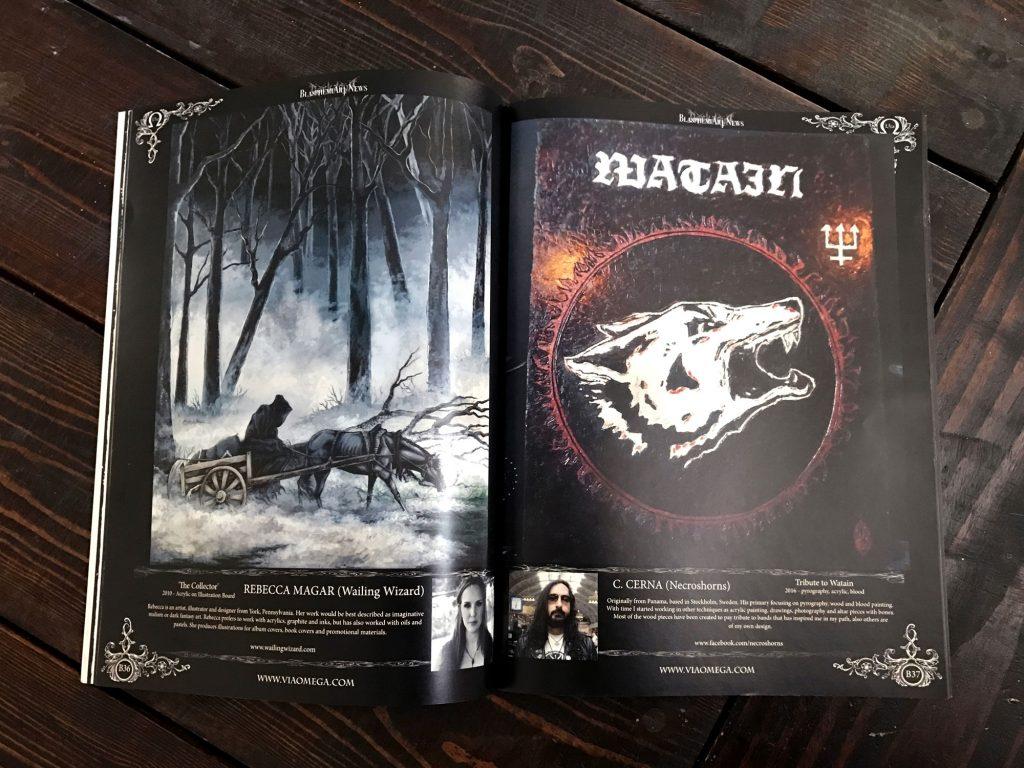 ViaOmega Magazine Rebecca Magar - Wailing Wizard