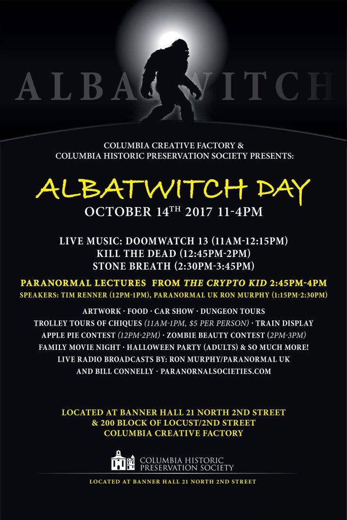 Wailing Wizard at Albatwitch Day Festival in Columbia, PA