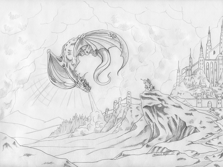 High Command Sketch by Rebecca Magar - Wailing Wizard