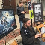 Wailing Wizard Art at Albatwitch Day Festival