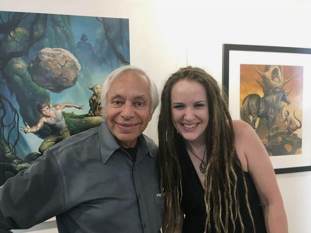 Boris Vallejo and Rebecca Magar
