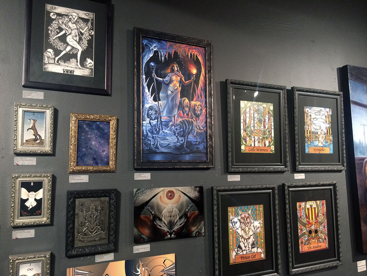 Ghost Gallery - Art of Tarot II Exhibit