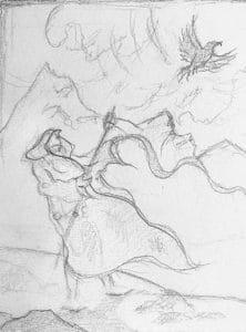 Harbinger Doodle by Rebecca Magar