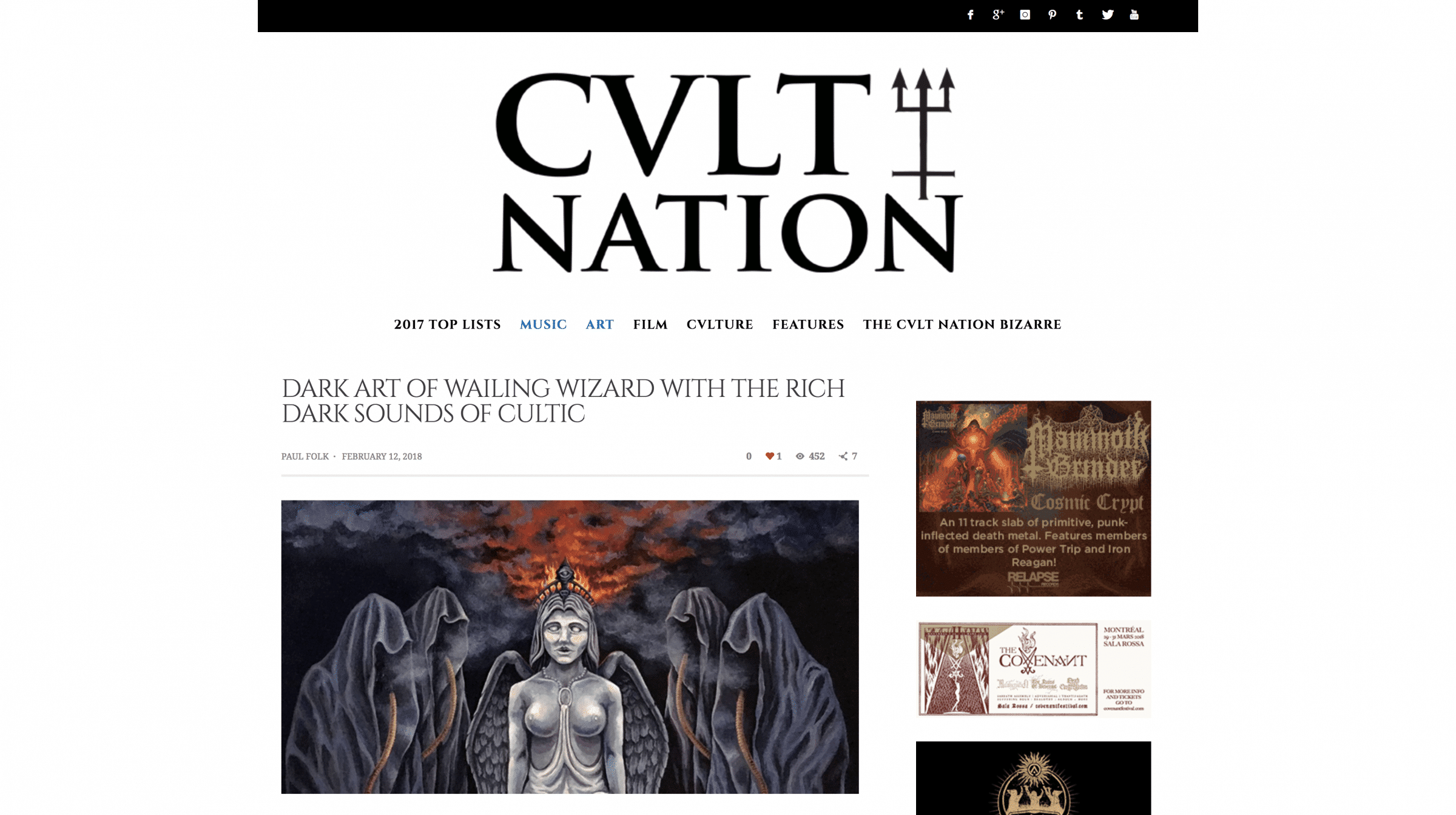 CvltNation Wailing Wizard and Cultic Review