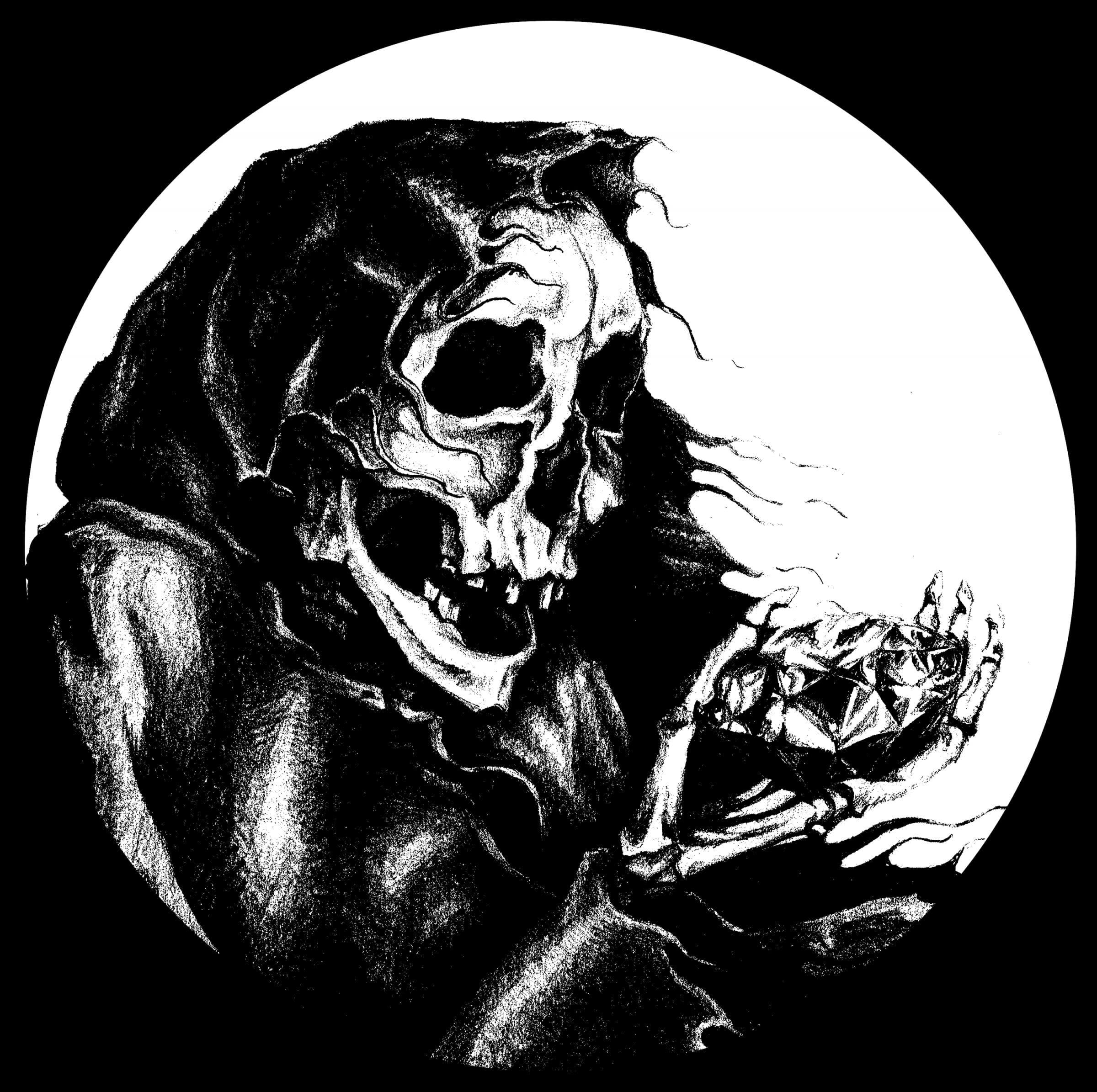 Skeleton with Diamond - Short-Sleeve Unisex T-Shirt