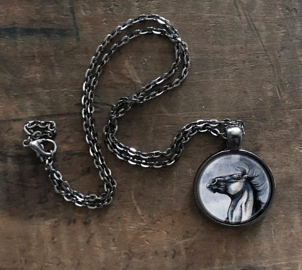 Wild Horse Necklace