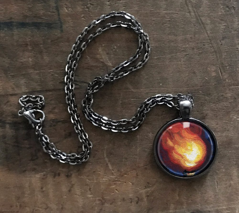 Fire Necklace