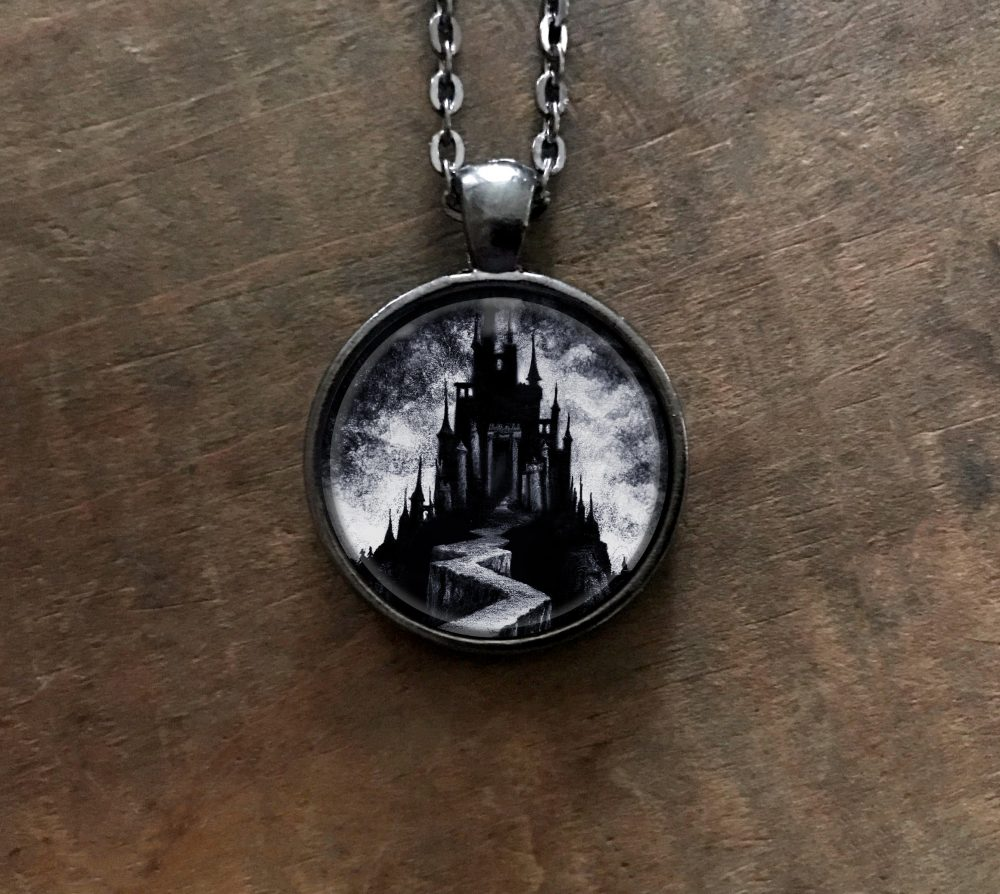 Black Castle Necklace