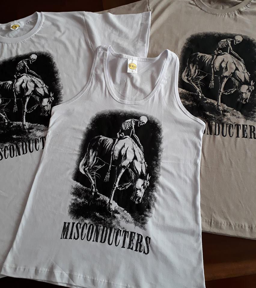 Misconducters Shirt Artwork by Rebecca Magar - Wailing Wizard