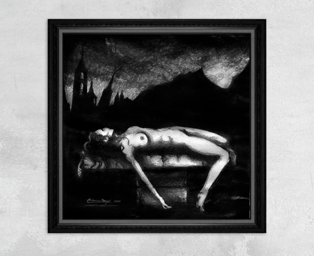 Necroparthenophagy - Virgin Sacrifice Nude Print