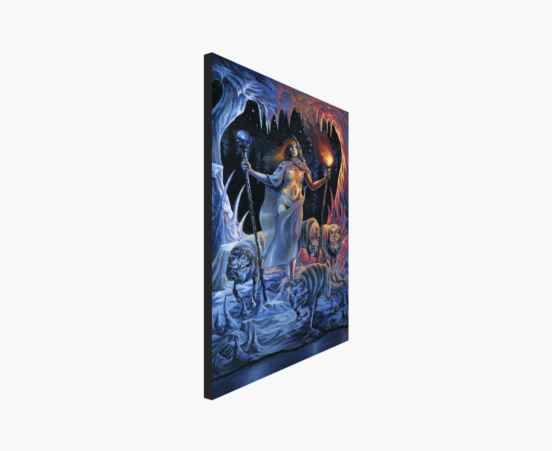 Two of Wands Tarot Print