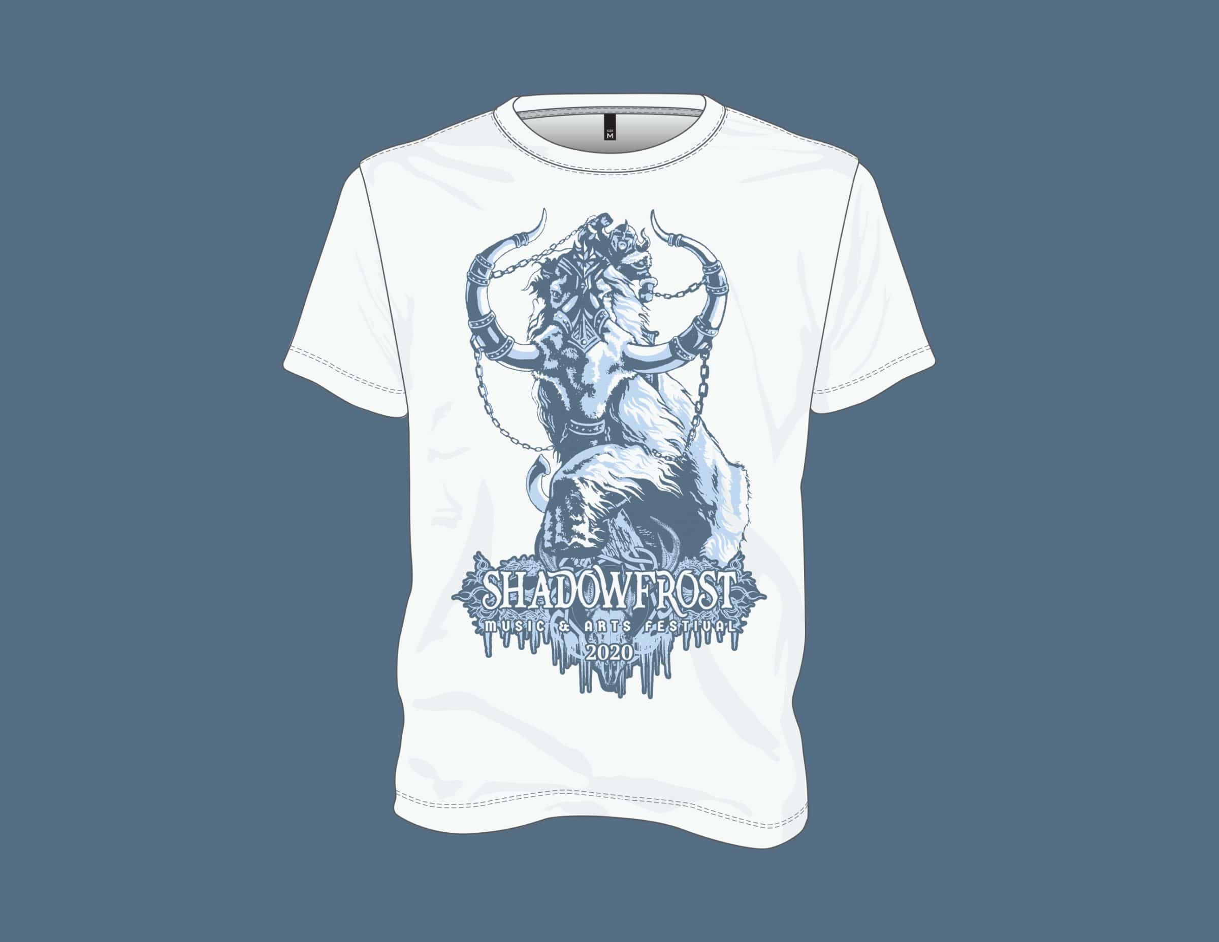 White War Mammoth - Shadow Frost Music and Arts Festival Mammoth Shirt